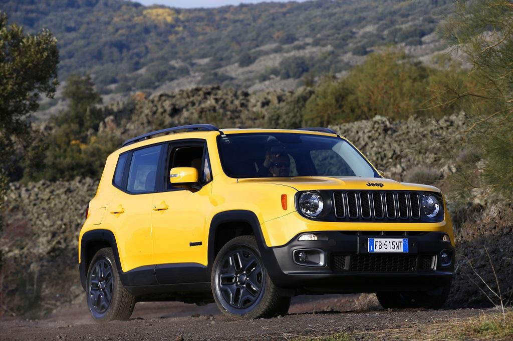 Jeep Renegade, açılır tavan hediyesi