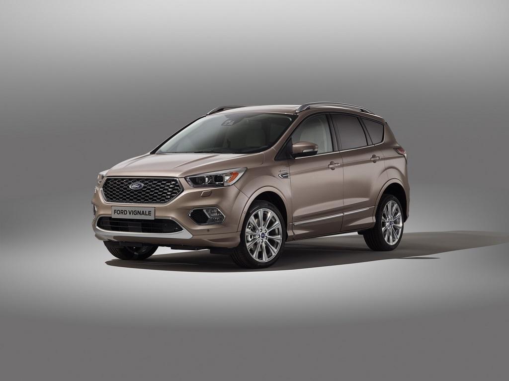 Yeni Ford Kuga Vignale tanıtıldı