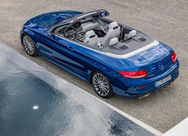 Yeni Mercedes-Benz C-Serisi Cabriolet Türkiye'de.