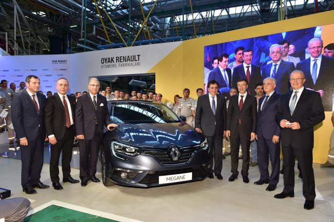 Yeni Megane Sedan'ın üretimi başladı