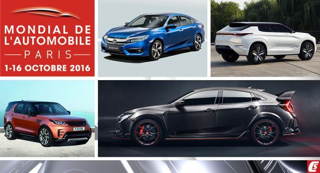 2016 Paris Otomobil Fuarı