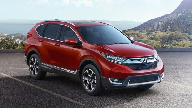 2017 Honda CR-V gün yüzüne çıktı