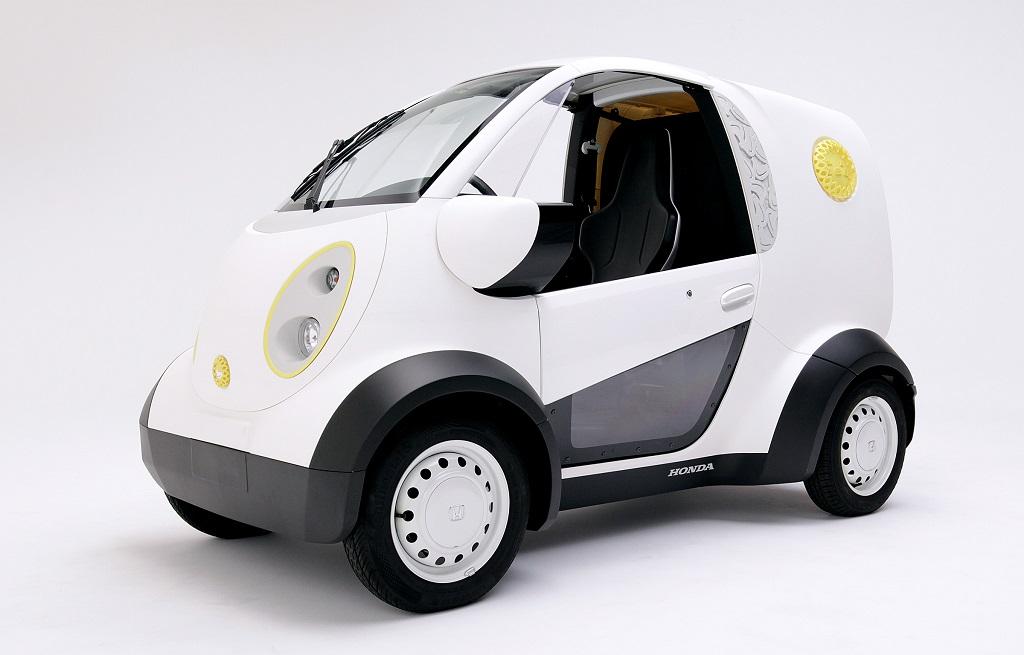 Honda 3 boyutlu yazıcıdan elektrikli otomobil yaptı