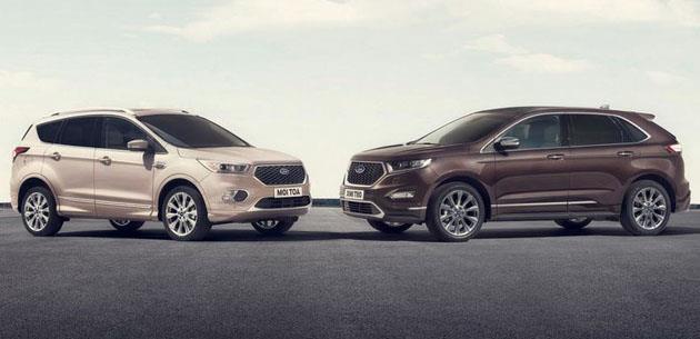 Ford Kuga ve Edge Vignale siparişe açıldı