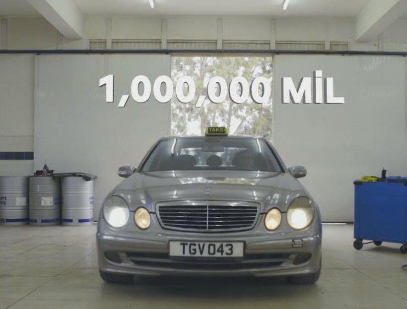 1 milyon mil yapan taksinin motoru incelendi