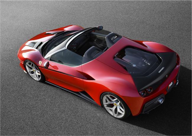 Ferrari, J50'yi tanıttı.