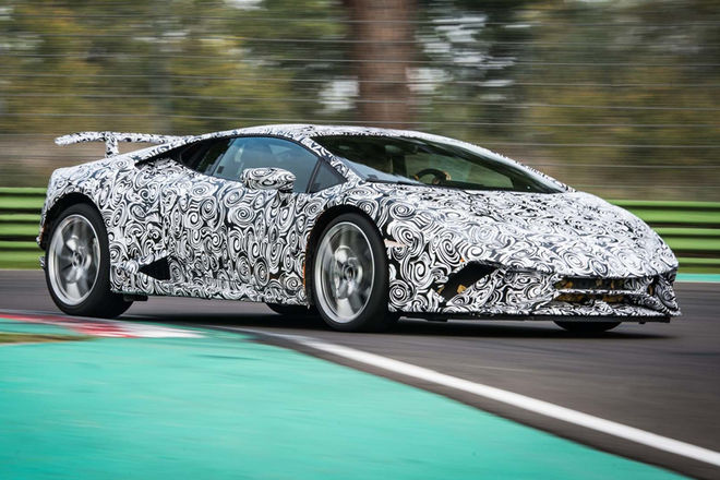 Ring'in yeni kralı Lamborghini Huracan Performante.