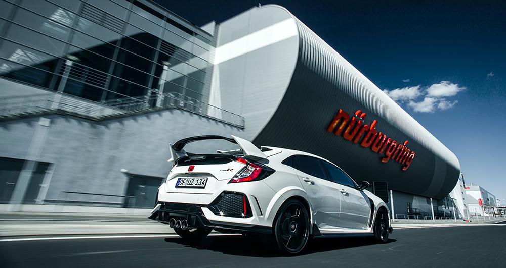 Yeni Honda Civic Type R Nürburgring'de rekor kırdı
