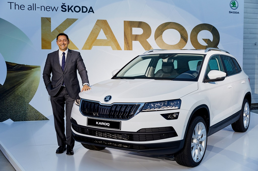 Skoda'dan yeni bir adım: KAROQ