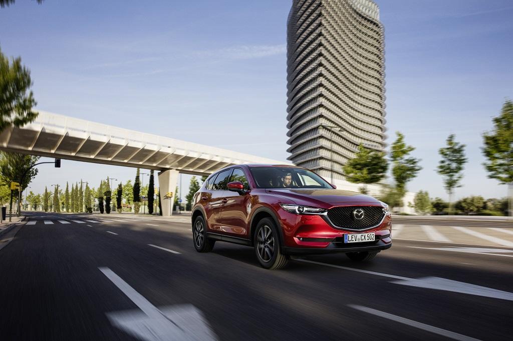 Yeni Mazda CX-5  Temmuz ayında satışa  çıkacak.