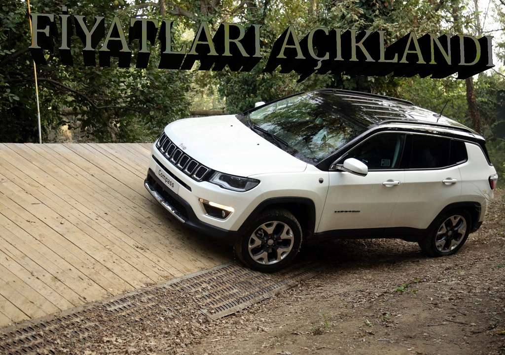 Yeni Jeep Compass Türkiye'de satışa sunuldu!