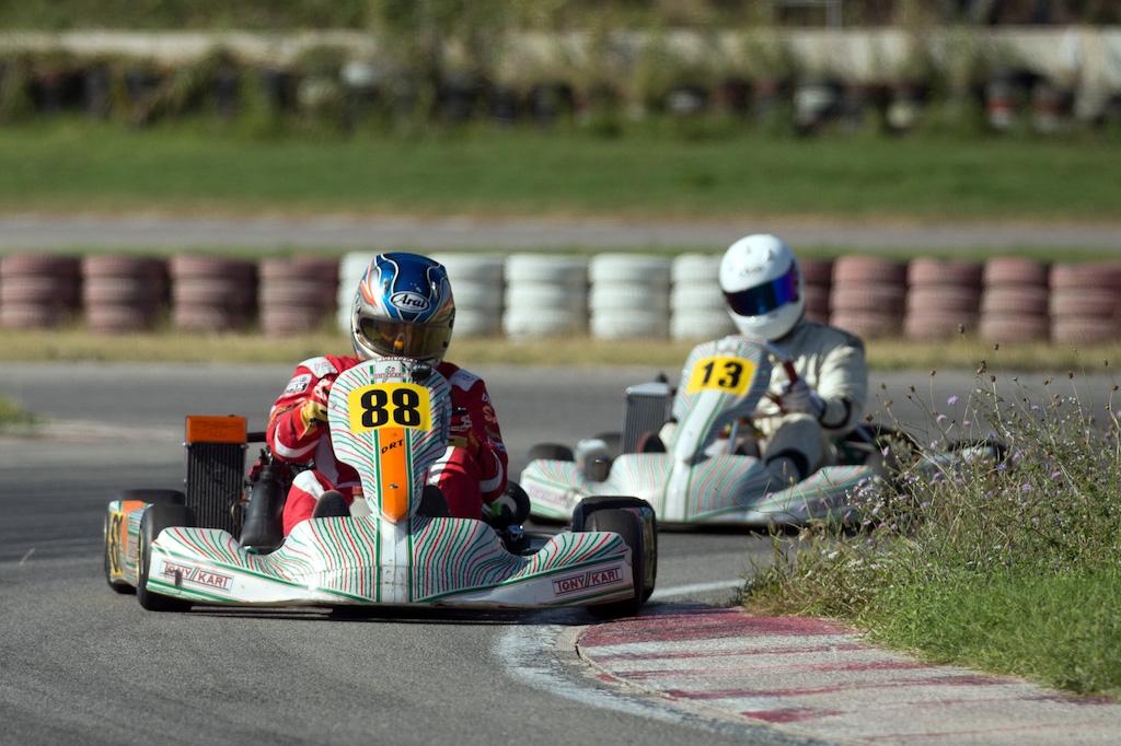 Karting mücadelesi Körfez'de devam etti