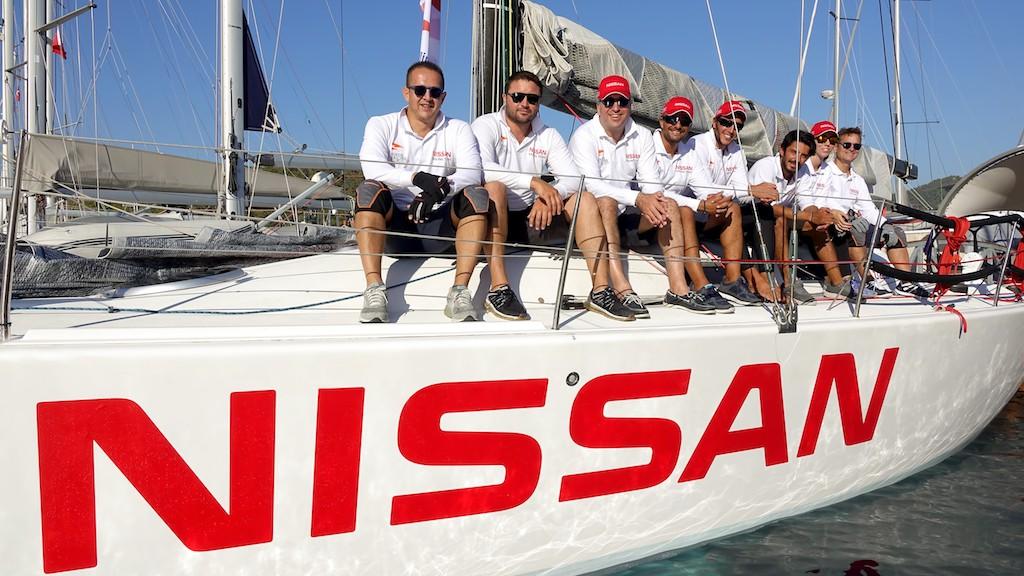 Nissan Yelken Takımı Denizde!