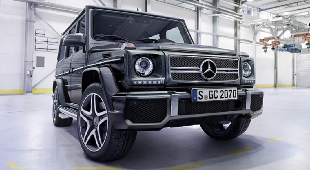 Mercedes G İç Dizaynını Gösterime Çıkarttı