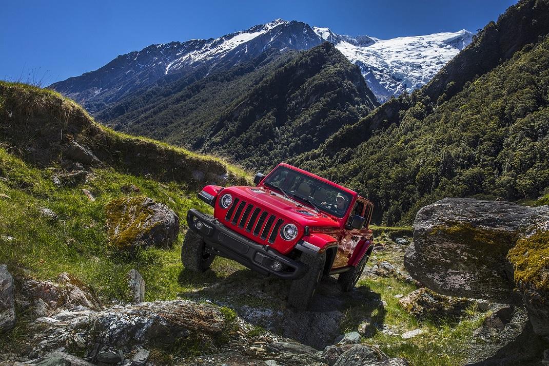 Yeni Jeep Wrangler'dan CES'te Teknoloji Şovu!