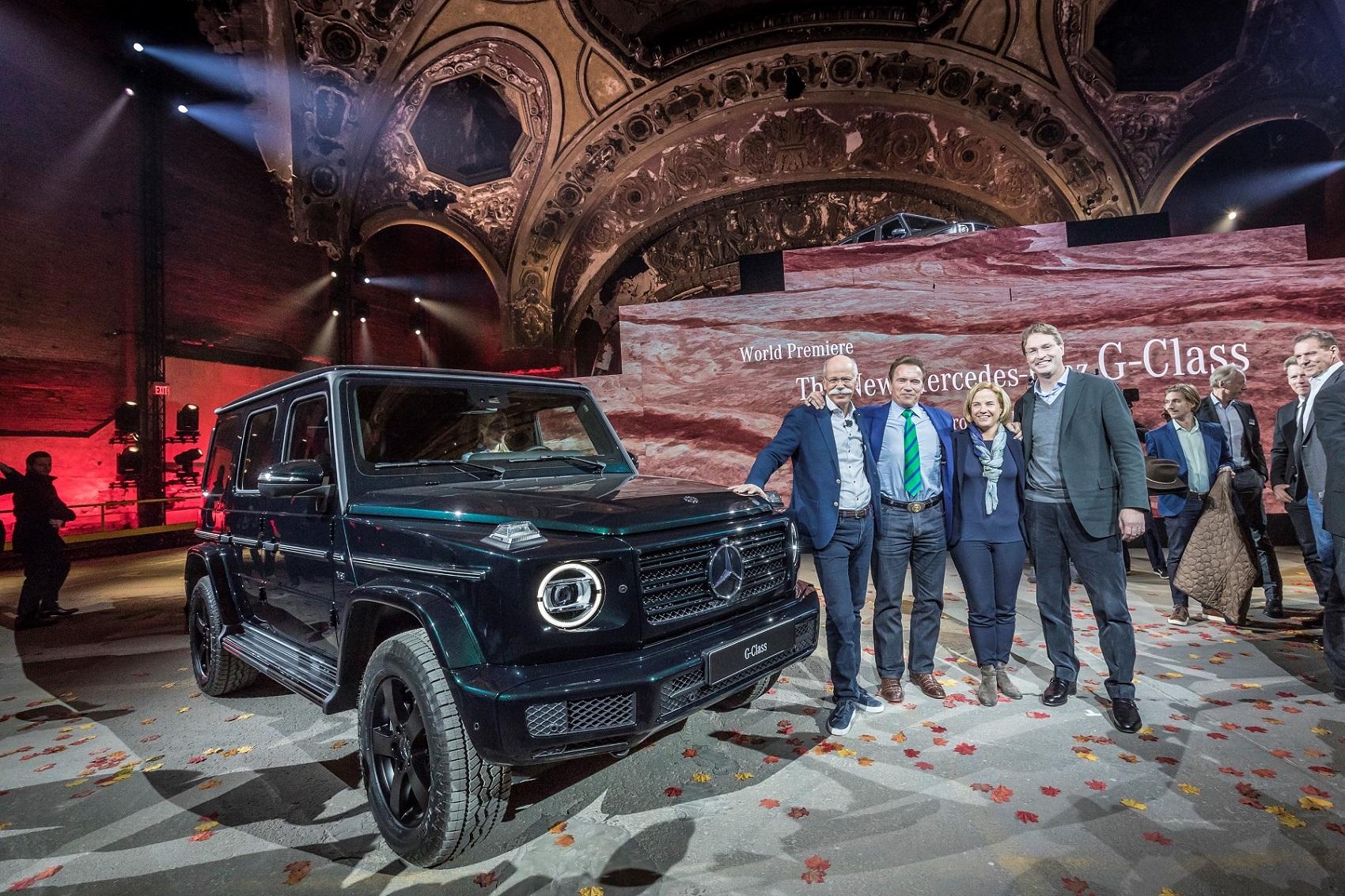 Mercedes-Benz 2018 Detroit Otomobil Fuarı'nda