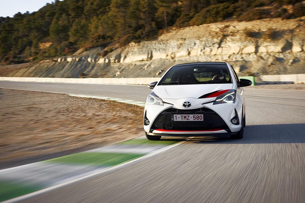 Toyota yüksek performans otomobili YARIS GRMN'yi tanıttı