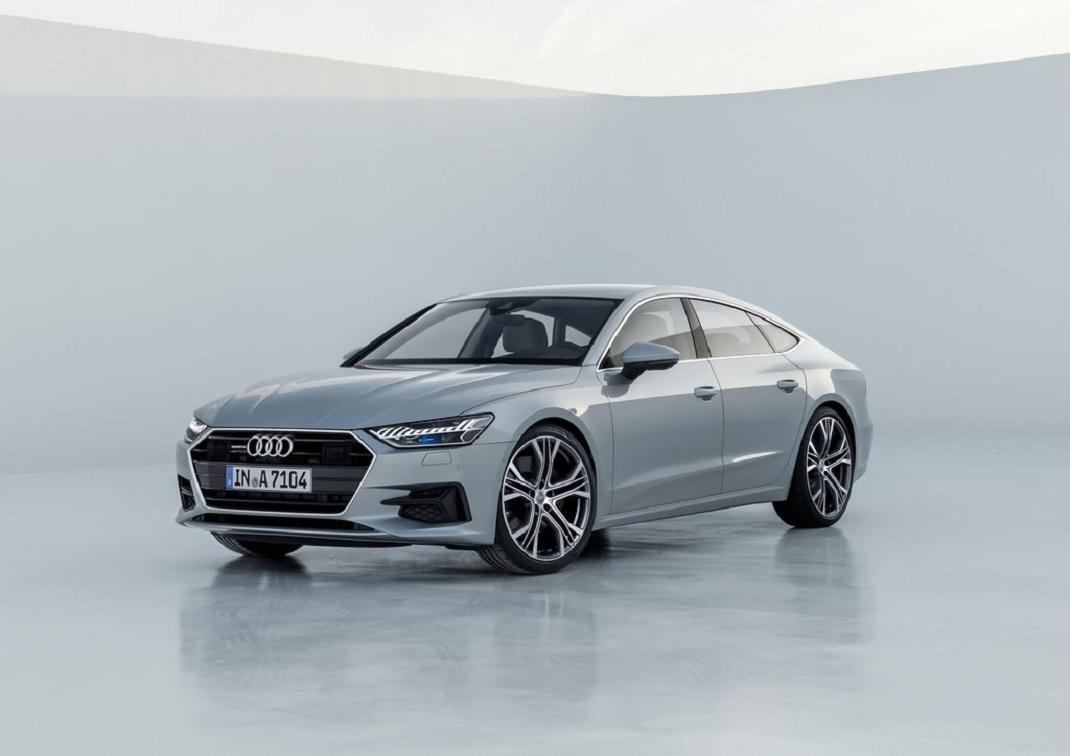 Audi, A7 Sportback modelini.Detroit Otomobil Fuarı'nda ortaya çıkaracak.