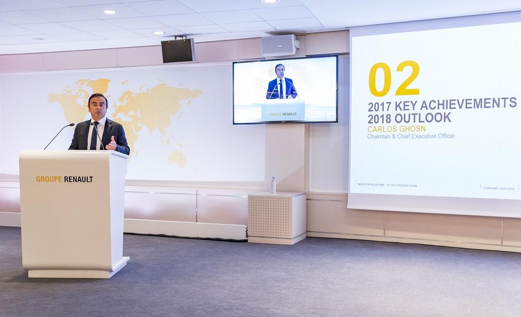 Renault Grubu tarihinin en başarılı yılını gerçekleştirdi