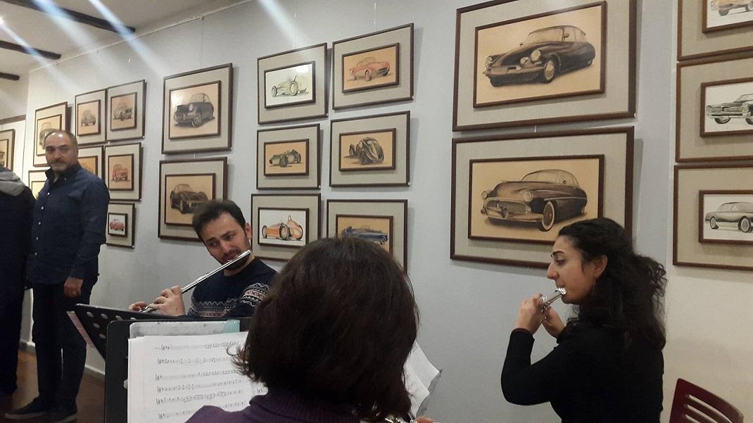 Klasik otomobiller sergisi Bien'in yeni koleksiyonları ile birlikte Fuar'da