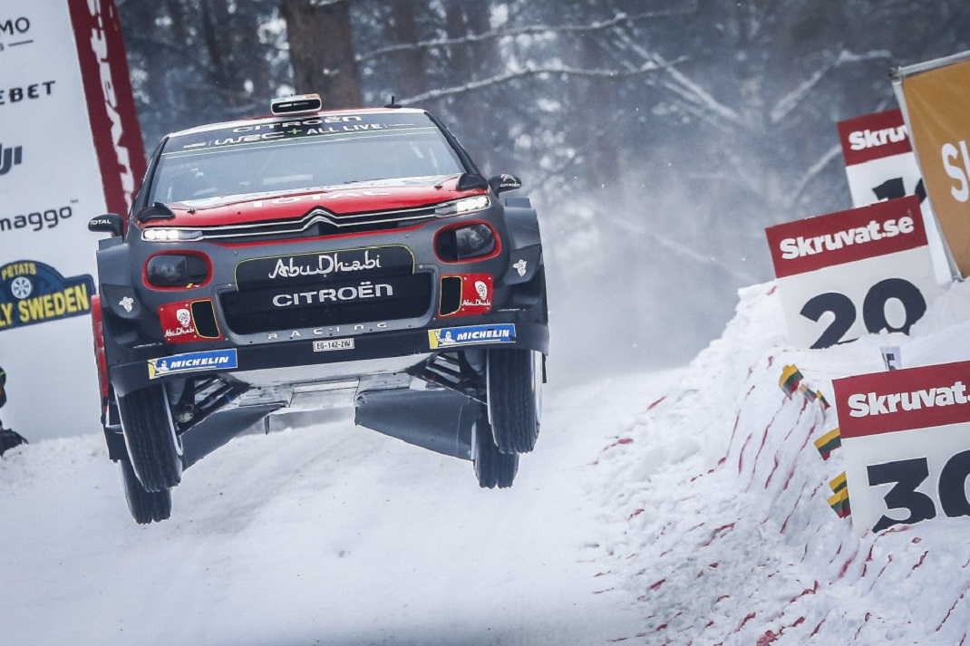 CITROËN C3 WRC İsveç rallisini podyumda bitirdi