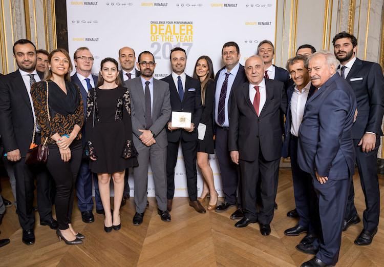 Türkiye'deki Renault Yetkili Satıcıları'na ödül