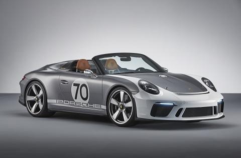 70'inci yıla özel Porsche 911 Speedster Concept