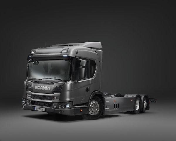 Scania hibrit modelini Frankfurt'ta tanıtacak
