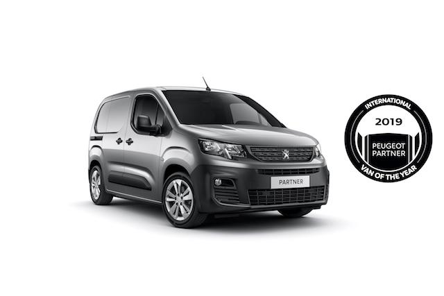 Yeni Peugeot Partner Yılın Vanı seçildi