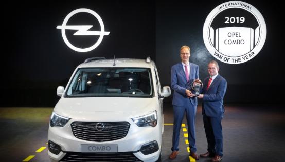 Yeni Opel Combo Yılın Hafif Ticari Aracı seçildi