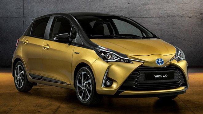 Toyota Yaris'in 20. yaşına özel versiyon: Y20