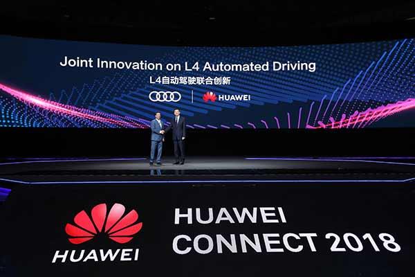 Audi ve Huawei'den teknoloji alanında iş birliği