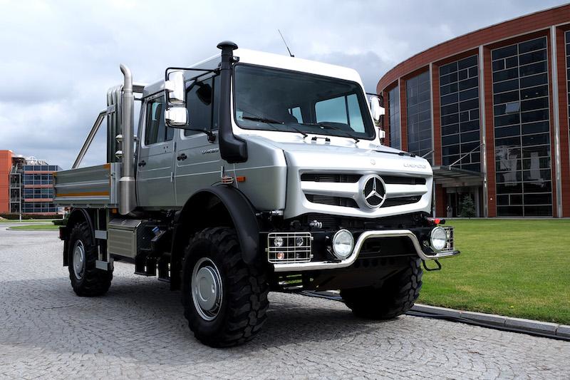 Yeni Mercedes Unimog Türkiye'de satışa sunuldu