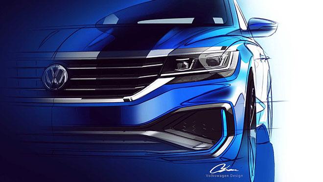 Yeni Volkswagen Passat'tan ilk görüntüler