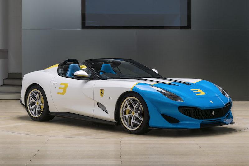 Ferrari'den kişiye özel 780 HP'lik roadster