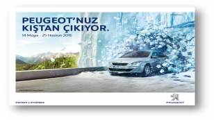 Peugeot, mevsim değiştiriyor
