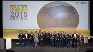 Türkiye'den üç Renault Yetkili Satıcısı'na ödül