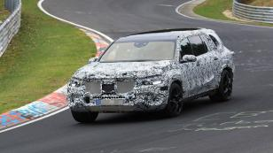 Yeni Mercedes GLS test sürüşünde görüntülendi
