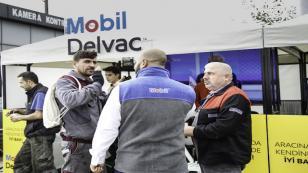 """Mobil Delvac'tan """"Aracına da Kendine de İyi Bak"""" etkinlikleri!"""