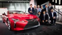 Lexus Lc 500'e EyesOn Design Ödülü