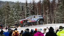 Hyundai i20 WRC'den İsveç'te podyum
