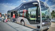 Mercedes'ten geleceğin sürücüsüz otobüsü