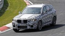 BMW X3 M, Nürbugring'de yakalandı