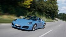 Porsche 911 Targa'ya hafif makyaj