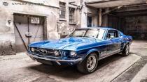 1967 Ford Mustang Fastback'e Carlex dokunuşu