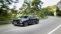 Mercedes GLC 43 AMG Coupe'yi resmen tanıttı