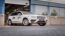 İlk sürücüsüz Volvo fabrikadan çıktı