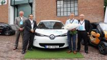Renault 100.000'inci elektrikli otomobilini sattı