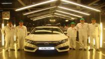 Yeni Honda Civic Sedan'ın üretimi başladı