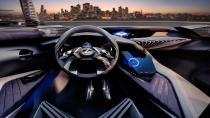 Lexus UX Concept Paris'e geliyor